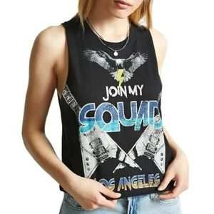 Forever 21 Join My Squad Muscle T-Shirt